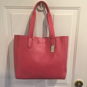 NWT Coach Derby Leather Tote F58660